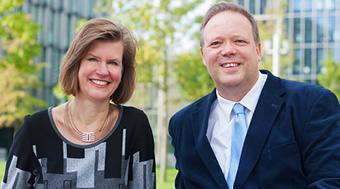 Monika Wyrobisch und Martin Wittig